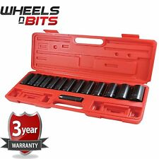 Deep Impact Socket Set 14 PEZZI 1/2in Drive - 10 a 32 mm Prese Set-i7400