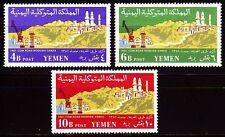 Yemen 1961 ** Mi.230/32 A Hafen Port Schiffe Ships Road