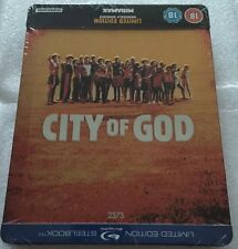 City Of God Steelbook Blu-Ray **Region B**