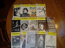 "Vtg ""PLAYBILL"", LOT of 14 issues, Starting 1966, Suger Babies, Me & My GIrl MORE"