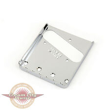 Brand New Fender American Vintage 3-Saddle Telecaster Bridge Plate in Chrome