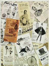 Ricepaper/ Decoupage paper,Scrapbooking Sheets/Craft Paper Vintage Posters