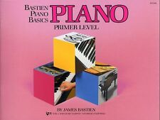 Bastien Piano Basics Primer Learn to Play Kids Beginner Easy Lesson Music Book