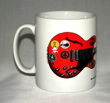 Guitar Mug. Alvin Lee's Gibson ES-335 Big Red illustration.