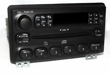 Mercury Ford 2001-2005 Radio AM FM CD Player w Upgraded Aux Input 4L2T-18C815-EA