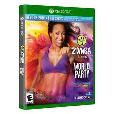 Zumba Fitness World Party - Microsoft Xbox One Game - Complete