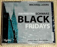 NEU, OVP - Am Freitag schwarz - BLACK FRIDAYS - Michael Sears - Hörbuch