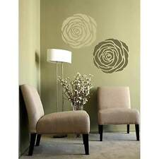Rose Stencil Wall Art - MEDIUM - Stencil Design for Home Decor - Easy DIY Decor