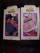 Crissy Family Velvet, Mia, and Dina Outfits, NIB