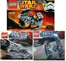 3x LEGO Star Wars Sternenzerstörer 30056 + Tie Jäger 8028 + Tie Advanced 30275