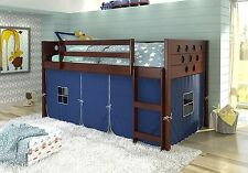 Tent Kit for Low Loft Beds in Blue