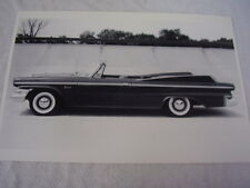1960 DODGE POLARA CONVERTIBLE 12 X 18 LARGE PICTURE / PHOTO