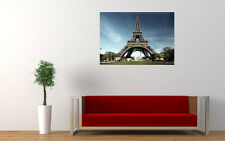 PARIS EIFFEL TOWER NEW GIANT LARGE ART PRINT POSTER PICTURE WALL