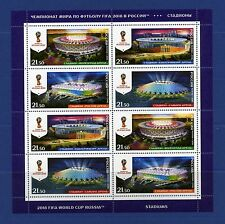 2018 FIFA WORLD CUP RUSSIA™ Stadiums MNH 26/08/2016