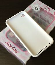 For iPod Touch 4th Gen - TPU RUBBER GUMMY SKIN CASE COVER PINK HELLO KITTY HEART