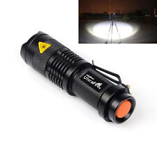 LED Flashlight 1200LM Tactical Torch Ultrafire CREE XML-T6 Light 18650 battery