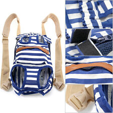 Fashion Pet Puppy Dog Cat Canvas Backpack Front Tote Carrier Travel Net Bag