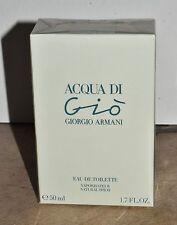 Acqua di Gio Giorgio Armani Eau de Toilette Spray 50ml / 1.7 Fl. Oz. In Box