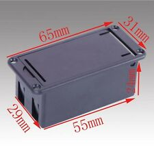 Plastic 9v Battery Holder Box suitable for electronics project PP3 55x29x24 mm