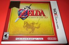 The Legend Of Zelda Ocarina Of Time Nintendo 3DS  Factory Sealed! Free Ship!