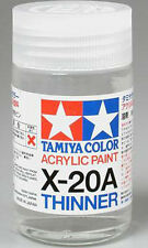 TAMIYA 81030 X-20A Acrylic Paint Thinner 46ml for PLASTIC MODEL KIT CRAFT TOOL