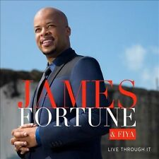 JAMES FORTUNE CD - LIVE THROUGH IT [2 DISCS](2014) - NEW UNOPENED