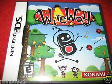 WireWay  (Nintendo DS, 2009) Puzzle Puzzler Video Game DSI 3DS 2DS NDS COMPATIBL