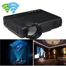 1000 Lumens LED Projector Home Theater USB TV 3D HD 1080P Business VGA/HDMI US