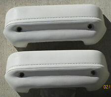 "MOPAR Dodge Plymouth Duster WHITE OR BLACK 1973 74 76 A Body Arm Rest Pad ""NEW"""