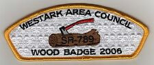 Westark Council CSP, SA-37, Woodbadge 2006, Mint!