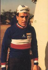 FELIX URBAIN cyclisme card carte Equipe Cycling Ciclismo PEUGEOT Photo