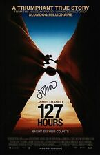 James Franco Signed 127 Hours 11x17 Movie Poster COA