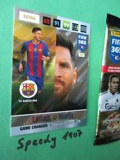 Panini Adrenalyn fifa 365 Nordic Edition game changer messi barcelona 2017