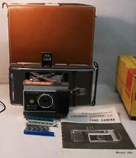 VINTAGE POLAROID J66 LAND CAMERA w/ CASE + 5 FlashBulbs  Guaranteed to work