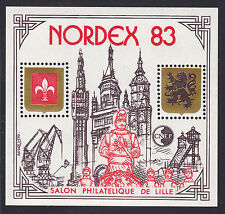 BLOC CNEP N°  4A ** NORDEX 1983, NEUF LUXE