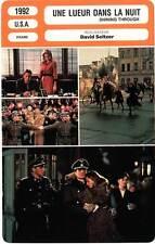 FICHE CINEMA : UNE LUEUR DANS LA NUIT - Douglas,Griffith 1992 Shining Through
