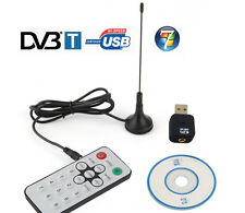 DVB-T Mini USB Digital TV HDTV Stick Tuner Receiver Dongle Recorder Remote DVBT