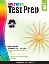Spectrum Test Prep, Grade 3