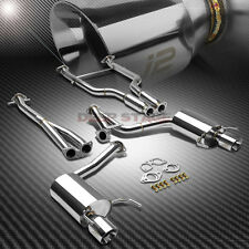J2 ENGINEERING DUAL TIP CATBACK EXHAUST FOR 06-12 LEXUS IS250 IS350 4GR-FSE V6