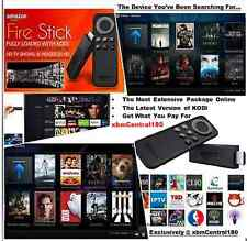 Amazon-Fire-TV-STICK-FIRESTICK-FULLY LOADED(Jailbroken)  KODI 16.1 with ALEXA!!