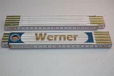 Zollstock mit  NAMEN      WERNER    Lasergravur 2 Meter Handwerkerqualität