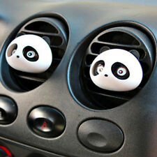 1Pair Panda Auto Car Perfume Air Freshener Decoration Detailing Accessories Cute