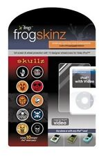 Frogskinz Skullz Screen and Click Wheel Protection for iPod 30/60/80 GB Video
