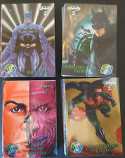 1995 COMPLETE BATMAN FOREVER METAL COMIC TRADING CARD FOIL SET