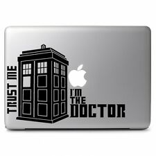 "Trust me I am Doctor Who Decal Sticker for Apple Macbook Air & Pro 13"" 15"" 17"""