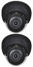 2 Sony Effio Dome Cameras D WDR 700TVL OSD button 2.8-12mm auto iris lens Brown