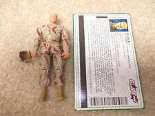 Complete Excellent Condition GI Joe 2005 Figure Desert Humvee Driver Duke V19