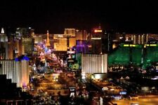 Las Vegas Poster The Strip At Night 24in x 36in