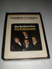 Brothers Four REMEMBER 8 Track Tape SEALED 60's Vocal Pop TOP-LOADED VARIANT TC8