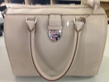 Ralph Lauren Large Bevington Leather Handbag In Porcini Nwt Fabulous!